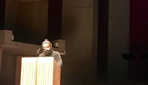 Mokhallad Rasem opent academiejaar aan het Koninklijk Conservatorium Antwerpen met inspirerende toespraak